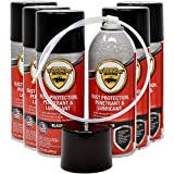 woolwax 12 Oz Undercoating Protection Black Aerosol Spray Can 6 Pack, Rust Inhibitor and Prevention, Anti Corrosion Multi Purpose Penetrant and Lubricant, Spray Can Extension Wand Included