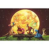 XUDONG Winnie the Pooh Diamond Painting Kit for Adults, 5D Full Drill DIY Arts & Crafts Bling Artwork Decor Gift Set with Crystal Rhinestone Gems 16x20 inch (9)