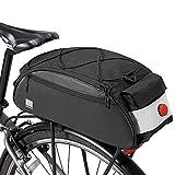 COTEetCI Bike Trunk Bag Bicycle Cargo Rack Bag Commuter Bike Rear Rack Bags...