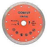 GOBEST tile diamond disc blade 180x22.2 wet cutting (GB-0103)