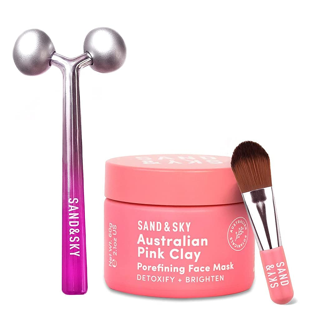 Sand OFFer Sky Australian Pink Clay Care Mask Limited Special Price Face Skin Porefining