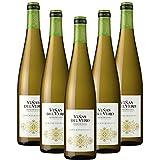 Vino blanco Gewürztraminer Viñas del Vero de 75 cl - D.O. Somontano - Bodegas Gonzalez Byass (Pack de 5 botellas)