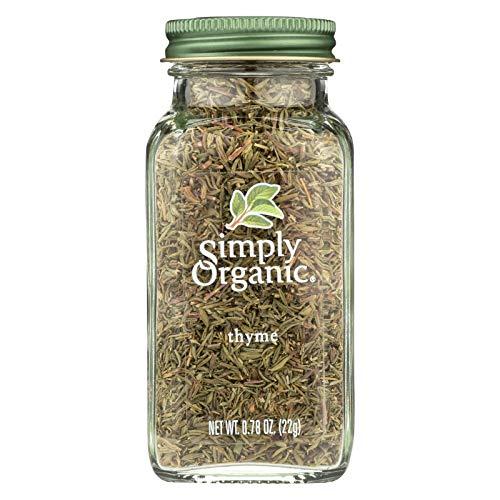 Simply Organic Thyme Leaf - Organic - Whole - Fancy Grade - .78 oz
