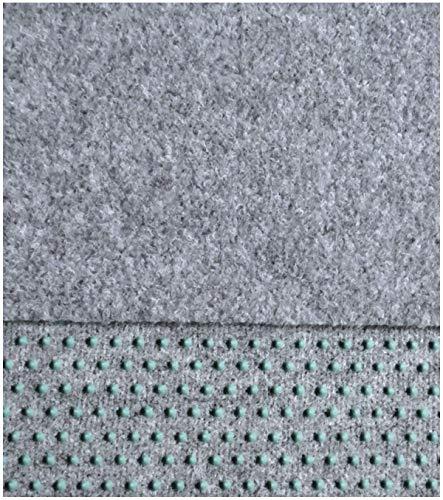 Kunstrasen, Rasenteppich,150 cm Breite Farbe hellgrau (350 x 150 cm)