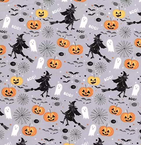 100% Cotton Fabric Sold by The Yard 1 Yard = 36 in. Length (Christmas Lights White Christmas)