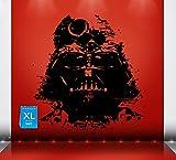 Darth Vader Decal, Darth Vader Sticker, Darth Vader Large Decal, Star Wars Decal, Sticker Star Wars, Sith,ATAT, Death Star, Yoda, Storm Trooper Wall Art Wall Decals Wall Stickers Tr331 (18W X 22H)