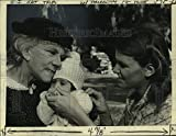 Historic Images - 1978 Press Photo Ellen Corby & Judy Norton-Taylor Starring in The Waltons
