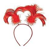 Fun Express - Team Spirit Head Boppers Red 1 pc - Apparel Accessories...