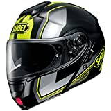 Shoei Neotec Imminent Flip Front Motorcycle Helmet L Black Yellow (TC-3)