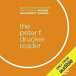 The Peter F. Drucker Reader cover art