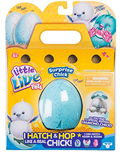 Moose Little Live Pets figuur 28427 Surprise Chick - gesorteerd