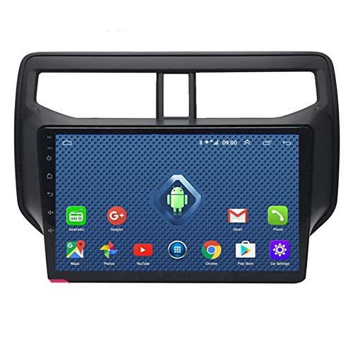 YSSSZ Navegador GPS para automóvil Radio estéreo DVD para Toyota Rush 2018, Pantalla táctil de 9 Pulgadas Soporte de navegación por satélite FM/Am/Bluetooth/Mapa / 4G WiFi,1G+32G