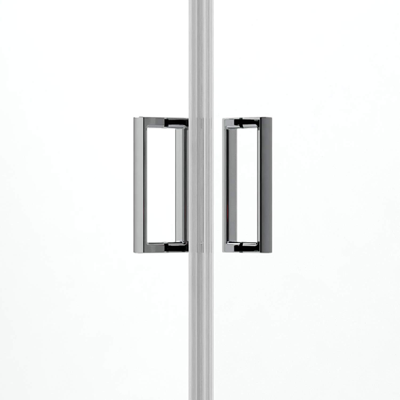 Idralite Box Mampara de Ducha Semicircular 80x80 H200 Transparente ...