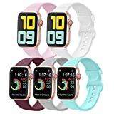 AK Bands Compatible with for Apple Watch Band 38mm 40mm 42mm 44mm, Soft