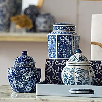 Best blue and white jars Reviews