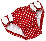 Fashy Baby Badewindelhöschen, rot/Weiß, 62/68