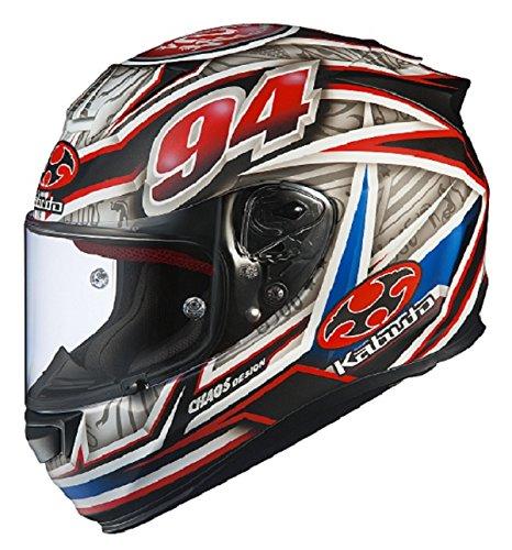 オージーケーカブト(OGK KABUTO)バイクヘルメット フルフェイス RT-33 URAMOTO(ウラモト) フラットホワイト (サイズ:M) 576394