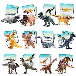 2. Prextex Dinosaurs and Memory Card Game