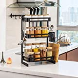 Tolead Especiero Organizador De Mostrador De Cocina De 2/3 Niveles Para Aceites Esenciales Organizador De Baño Estable...