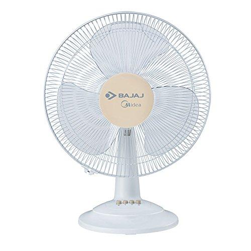 Bajaj Midea BT 07 400mm Table Fan (White)