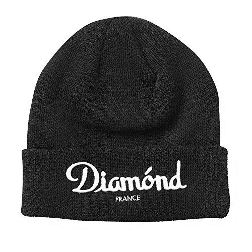 Diamond Supply Co. Champagne Beanie Black