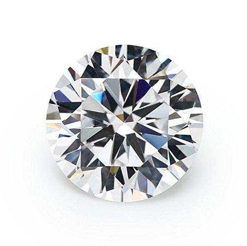 1000PCS 1.5mm AAAAA Round Machine Cut White Cubic Zirconia Loose CZ Synthetic Gemstone (1.5mm 1000pcs)
