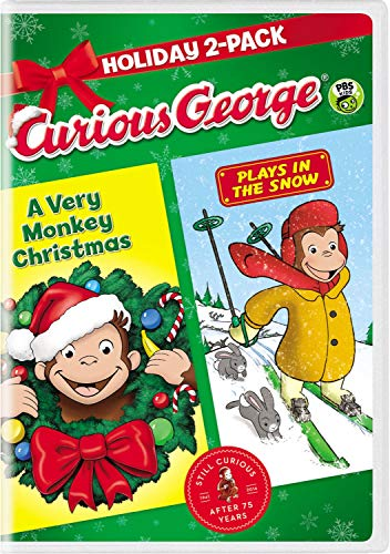 Curious George: Holiday 2-Pack (A Very Monkey Christmas / Plays in the Snow)