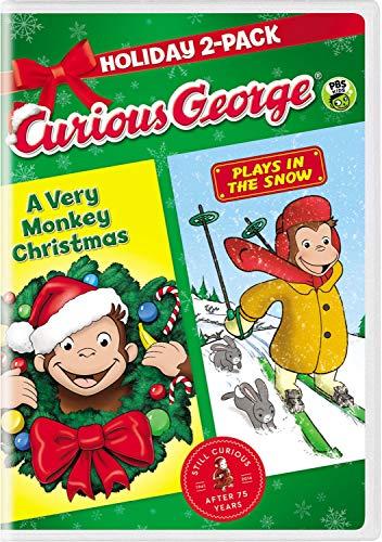 2021年最佳好奇乔治圣诞dvd