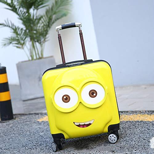 HGC Trolley Case Universal Wheel Boy Girl Child Travel Case Trolley Bag 18 Inch