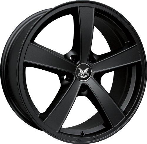 in. pro. FS de 118nx-5114335760 DW58–15 D & W Jante le mans Nero 8 x 18 5/114 et35 Hyundai IX35 (EL/LM), 85–135 KW, Bj. 2010 -