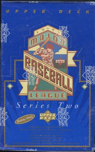 1993 Upper Deck Series 2 MLB Baseball HOBBY box