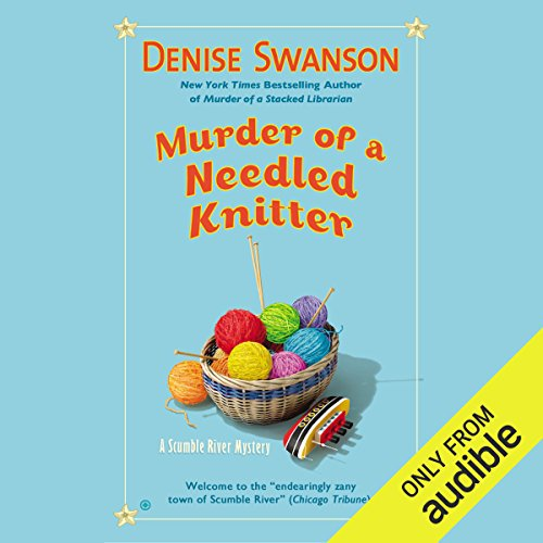 Murder of a Needled Knitter audiobook cover art