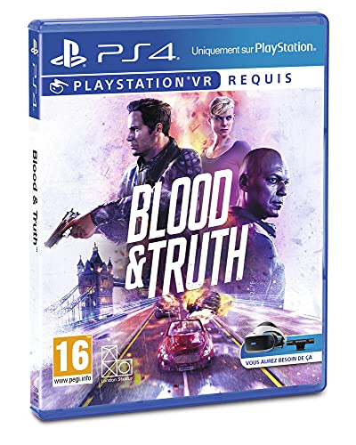 Blood and Truth PS VR - PlayStation 4 [Edizione: Francia]