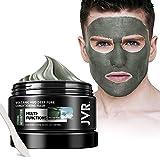 JVR Vulkanschlamm Deep Pure Conditioning Mask, Gesichtsmaske gegen unreine Haut, Akne, fettige Haut& Mitesser 140ml