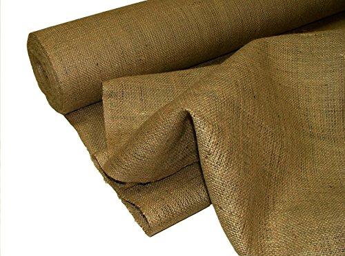 Pandoras Upholstery - Tela de arpillera (1 m), Color marrón