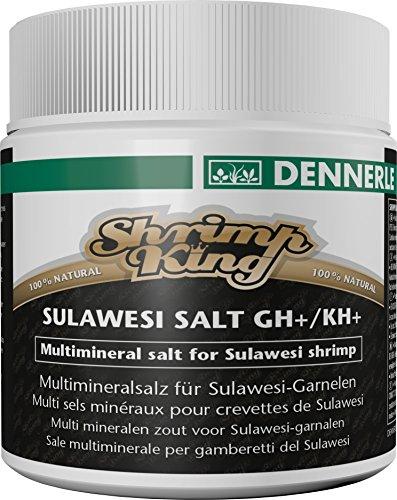 Shrimp King Sulawesi Salt GH+/KH+ 200 g - Multi-Mineralsalz für Garnelen aus den Sulawesi-Seen