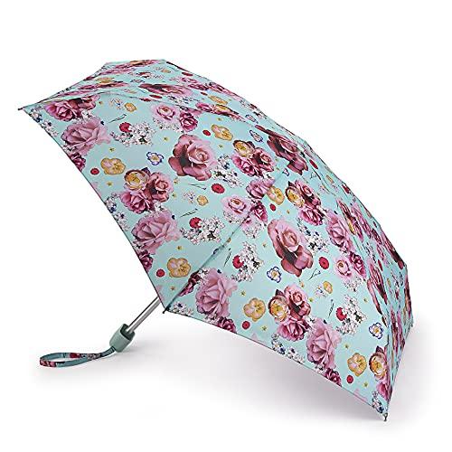 Regenschirm mit 2 Papierrosen, Bedruckt