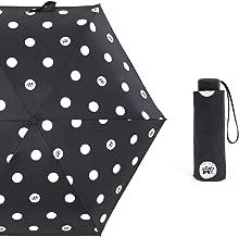 Paraguas Paraguas Manual de Dibujos Animados Paraguas Travieso Paraguas Paraguas Plegable Paraguas de plástico Negro Paraguas de 50 por ciento Paraguas Parasol