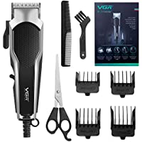 Professional Hair Trimmer Set with Adjustable Blade