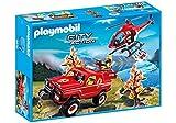 Playmobil 43729241 - Juego de Figuras de Bomberos, Multicolor