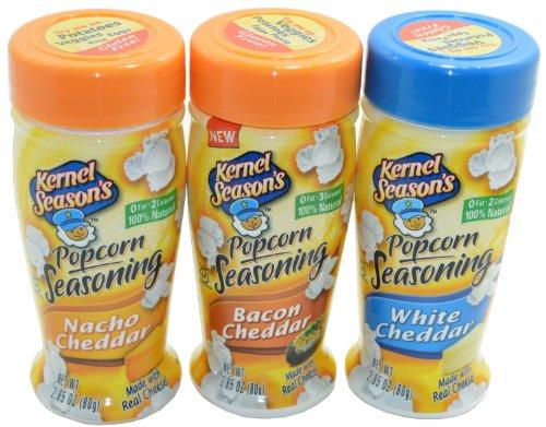 Sale!! Kernel Season's Popcorn Seasoning Cheese Lovers Variety Pack of 3