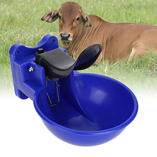 GOTOTOP - Cuenco de Agua de 2 L para Caballo, Ganado, Cabra, Oveja, Cerdo, alimentador de Granja, Suministros para Ganado