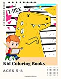 Kid Coloring Books Ages 5-8: Dinosaur , Unicorn & Animal Coloring Book Cartoon For Boys, Girls Toddlers & Teens Or Adult Best Xmas & Birthday Gifts With 250 Full Colour Pages Vol 19