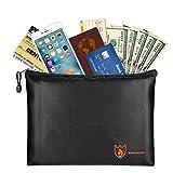 "Fireproof Money & Document Bag, MoKo B5 Size (11.8"" x 8.2"") Small Fire"