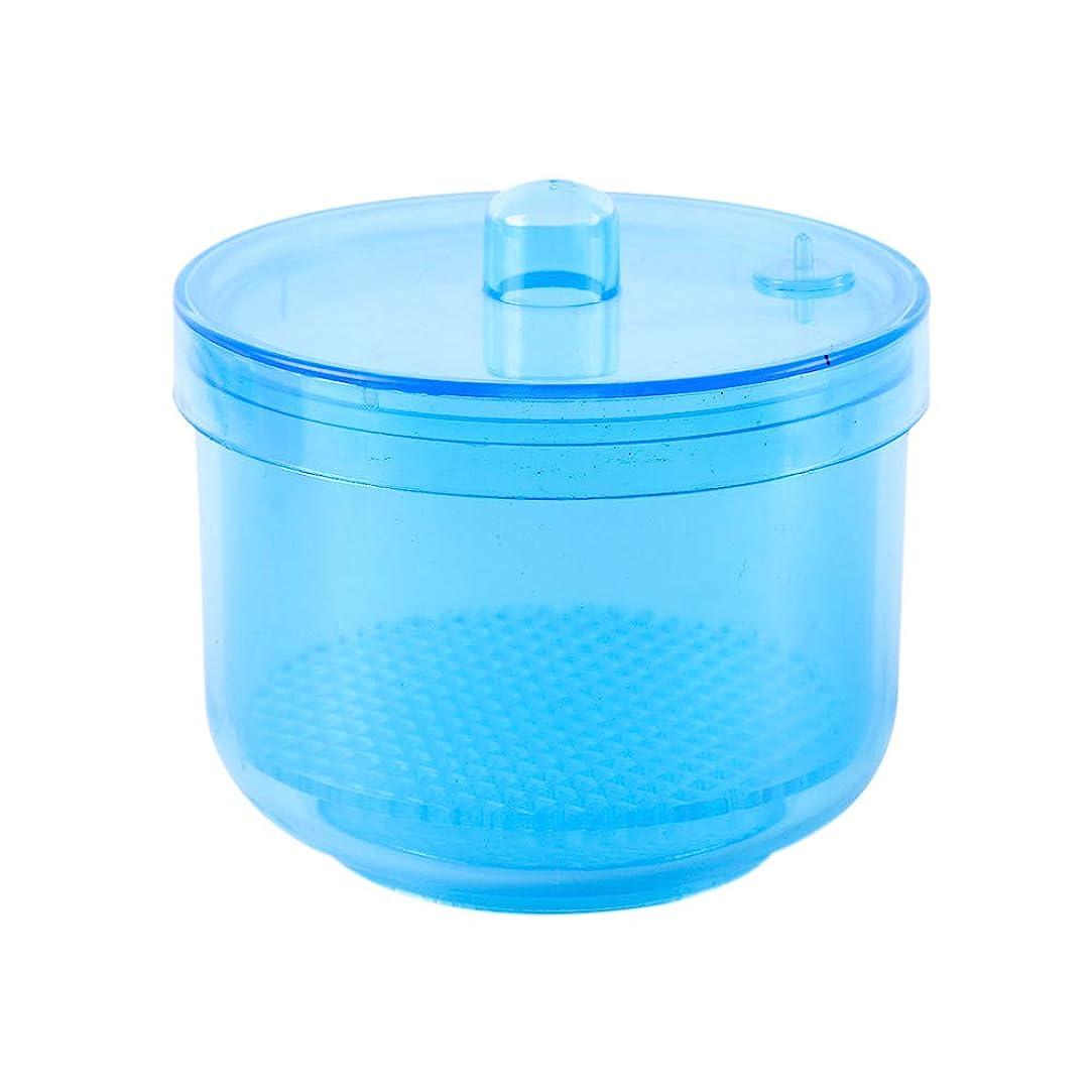 ブルフリル含意TOOGOO 1ピースネイル/ニードル消毒消毒収納ボックスネイル/ニードルビットクリーニングツールアクセサリーマニキュアクリーンネイル/ニードルツールカラーランダム