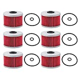 Breynet 113 Oil Filter 15412-HM5-A10 Compatible With 400 Oil Filter TRX400...