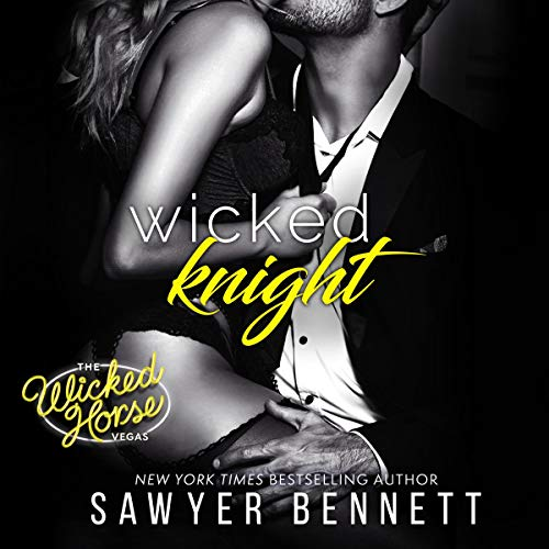 Wicked Knight     Wicked Horse Vegas Series, Book 5              By:                                                                                                                                 Sawyer Bennett                               Narrated by:                                                                                                                                 Lance Greenfield,                                                                                        Kirsten Leigh                      Length: 7 hrs and 57 mins     65 ratings     Overall 4.7