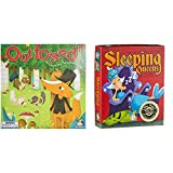 Gamewright Outfoxed! Game Board Game & Sleeping Queens Card Game, 79 Cards