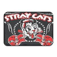 Topoi Stray Cats ストレイ キャッツ/ Star Doormat 玄関マット 泥落としマット ドアマット 屋外 玄関マット エントランスマット 耐磨耗性耐摩耗性マット 洗える 屋内 屋外 業務用 家庭用 滑り止