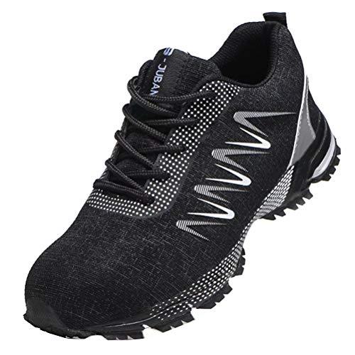 Zapatos de Seguridad Hombre Zapatillas Trabajo Ligeras Zapatos Deportivos Calzado de Trabajo...